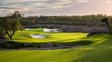 Overview of golf course named Royal Blue Golf Course at Baha Mar
