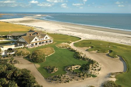 Overview of golf course named Ocean at Kiawah Island Resort