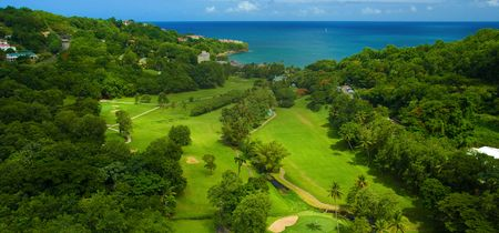 Overview of golf course named Sandals Golf Club at Sandals Regency La Toc