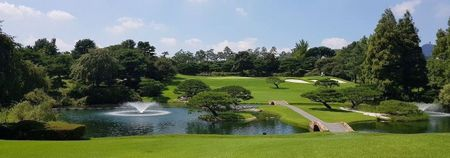 Overview of golf course named Anyang Country Club