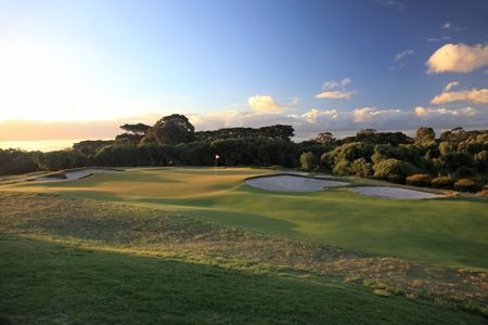 Overview of golf course named Royal Melbourne Golf Club - West Course