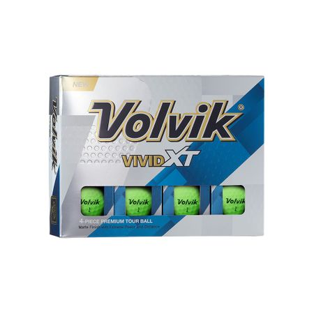 Golf Ball Vivid XT made by Volvik