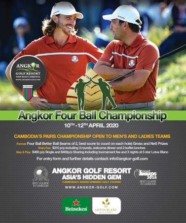 Hosting golf course for the event: Angkor Four Ball Championship 2020