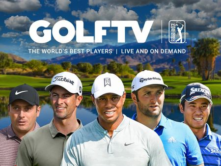 Dropdown cover GOLFTV