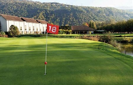 Hotel Grenoble Charmeil Golf Club Cover Picture