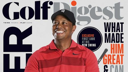 Dropdown cover Golf Digest