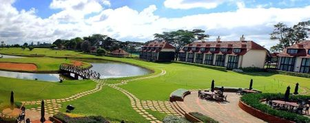 Hosting golf course for the event: Kenya safari tour golf
