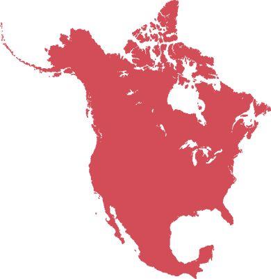 North America Flag