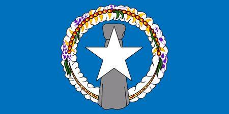 Northern Mariana Islands Flag