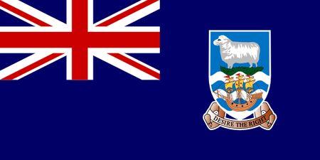 Falkland Islands (Malvinas) Flag