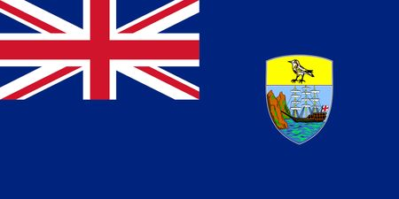 Saint Helena, Ascension and Tristan da Cunha Flag
