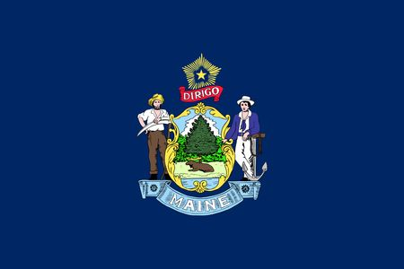 Maine Flag