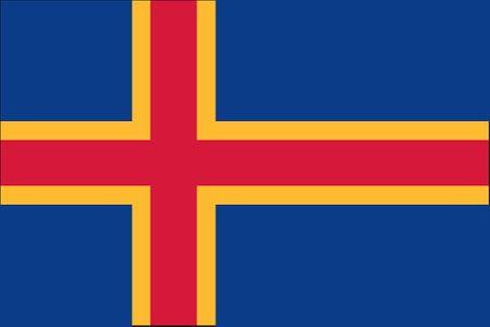 Åland Islands Flag