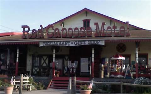 Red Caboose Motel Cover Picture