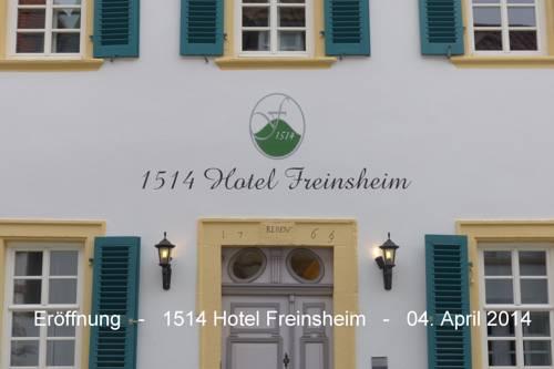 1514 Boutique Hotel Freinsheim Cover Picture