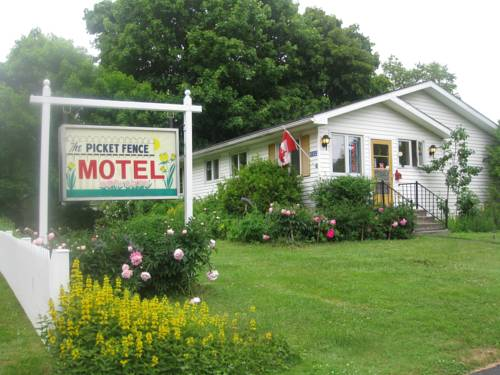 Picket Fence Motel Cover Picture