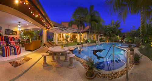 Relaxing Palm Pool Villa and Tropical Garden Cover Picture