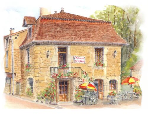 Hôtel Auberge de La Nauze Cover Picture