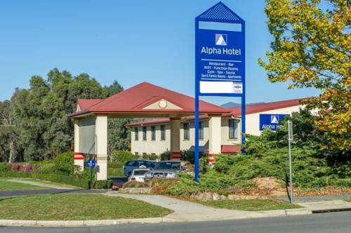 Alpha Hotel Canberra Cover Picture