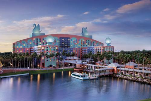 Walt Disney World Swan Cover Picture