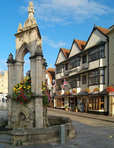 The Crown at Wells, Somerset Cover Picture