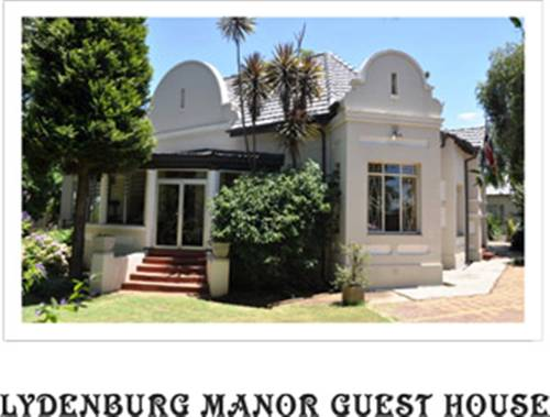 Lydenburg Manor Guest House Cover Picture