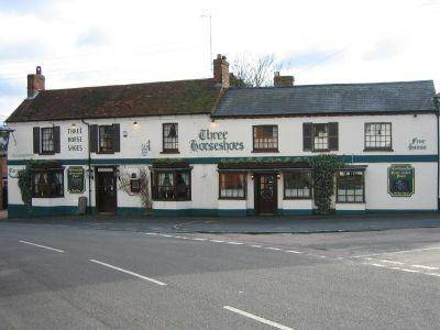 The Three Horseshoes Cover Picture