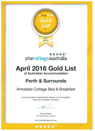 Armadale Cottage Bed & Breakfast Cover Picture