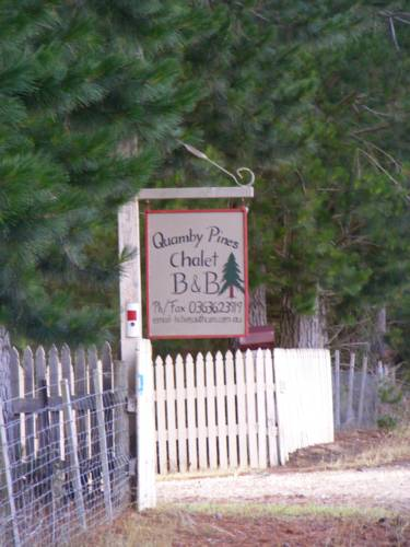 Quamby Pines Chalet Cover Picture
