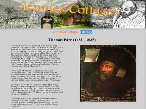 Parrs cottage Cover Picture
