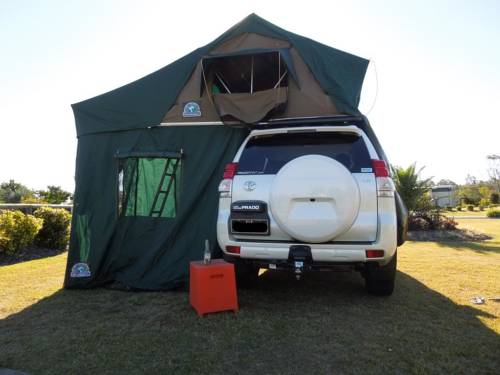 Adventure Campers - Jeep & Tent Cover Picture