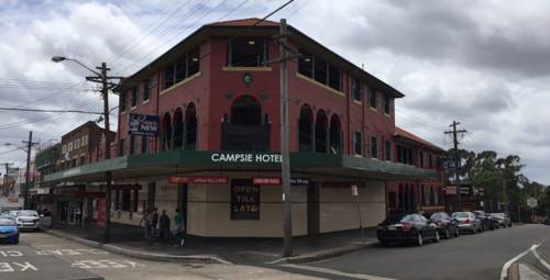 Campsie Hotel Cover Picture
