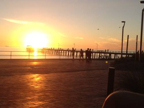 Adelaide - Semaphore Beach Front Cover Picture