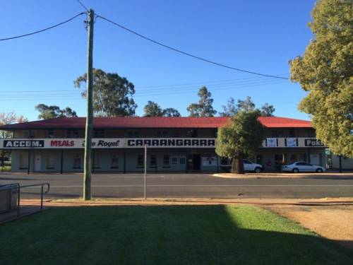 Royal Carrangarra Hotel Cover Picture