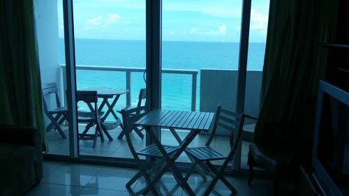 Miami Beach Oceanfront with Balcony Cover Picture