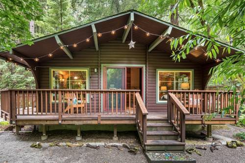 The Old Cazadero Cabin Cover Picture