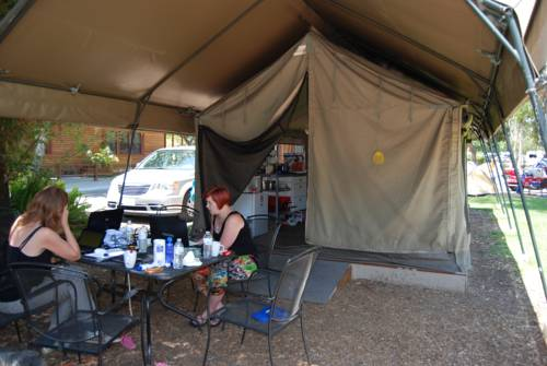 America's Tent Lodges San Diego Cover Picture