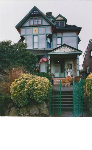 Geiger Victorian Bed and Breakfast Cover Picture