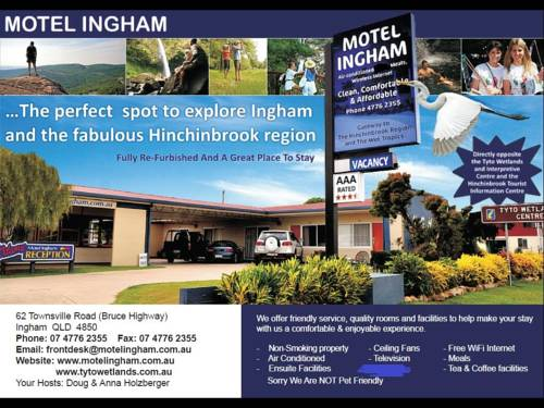 Motel Ingham Cover Picture