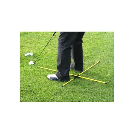 Swing Practice T Alignment Rod System Eyeline Golf Picture