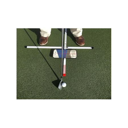 Swing Practice T with Mirror Eyeline Golf Picture
