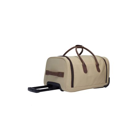 TravelGear Vintage Luxe Roller Duffle Bag - Sand Stitch Golf Picture