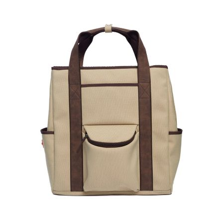 TravelGear Vintage Luxe Tote Backpack - Sand Stitch Golf Picture