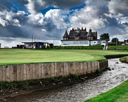 Leven Links Golf Club Cover Picture