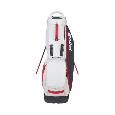 GolfBag Hoofer Lite - Black/White/Scarlet Ping Golf Picture