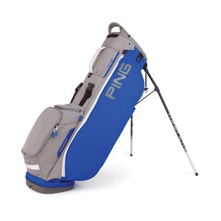 GolfBag Hoofer Lite - Royal/Silver/White Ping Golf Picture