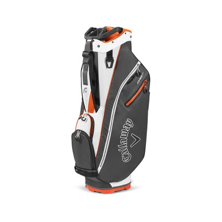 GolfBag Org 7 Cart Bag - Charcoal/Orange Callaway Golf Picture