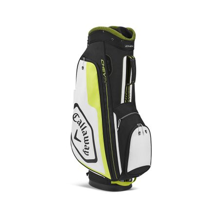 GolfBag Chev 14 Cart Bag - Black/Floral Yellow Callaway Golf Picture