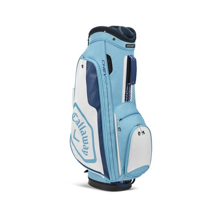 GolfBag Chev 14 Cart Bag - Light Blue/White Callaway Golf Picture