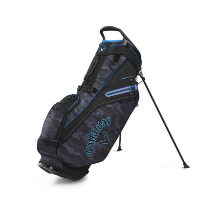 GolfBag Fairway 14 Double Strap Stand Bag - Black Camo Callaway Golf Picture